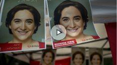 Carteles de Ada Colau para las elecciones municipales de 2015. (Foto: Getty)