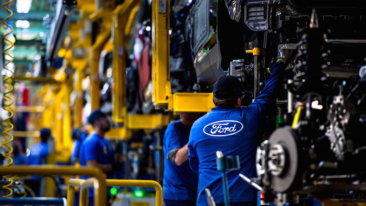 Fábrica de Ford en Almusafes (Foto: GETTY).