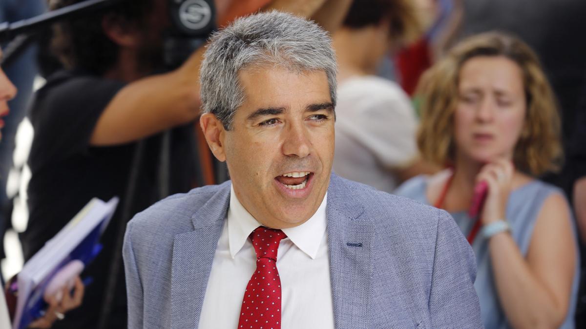Francesc Homs. (Foto: EFE)