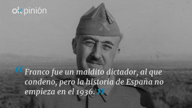 La historia de España no empieza el 18 de julio del 36