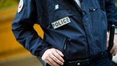 Un agente de la policía francesa.