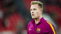 Ter Stegen duda sobre su continuidad en el Barcelona. (Getty)