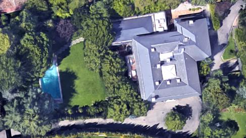 La vivienda del matrimonio Boyer-Preysler, situada en la calle Miraflores de Puerta de Hierro (Madrid)