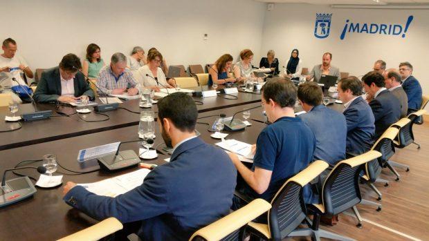 Comisión de Medio Ambiente de este miércoles. (Foto: AM)
