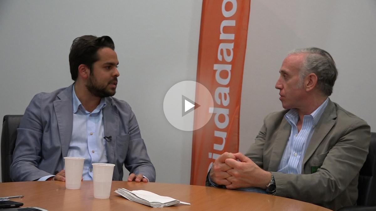 OKDIARIO entrevista al secretario de Comunicación de Ciudadanos, Fernando de Páramo. (Foto: Enrique Falcón)