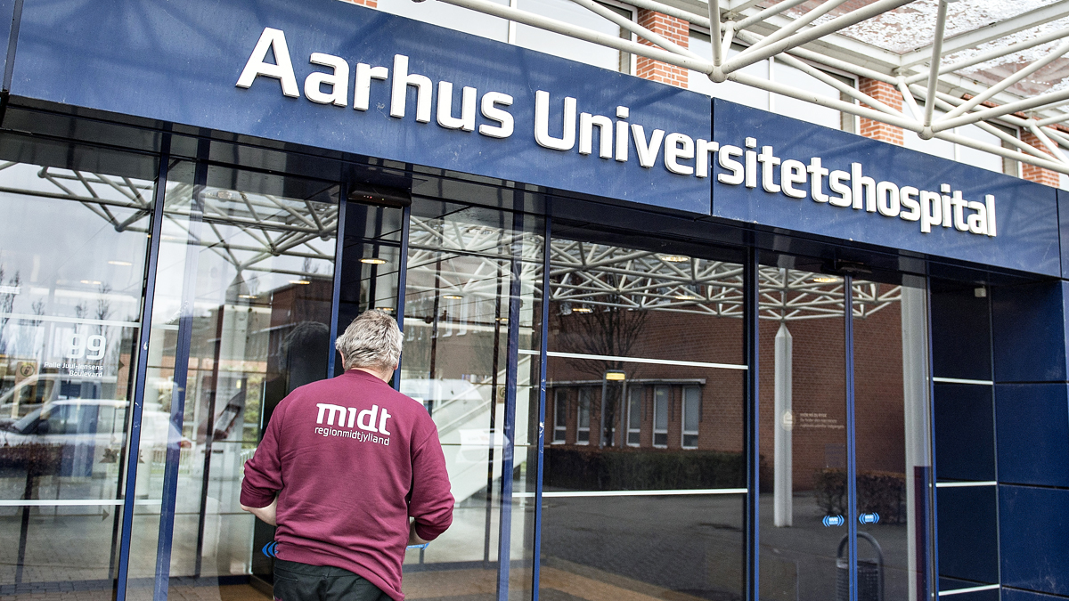 Hospital en Aarhus. (Foto: AFP)