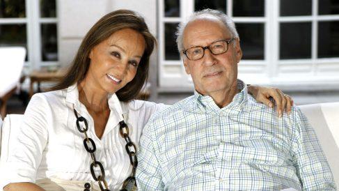 El ex ministro socialista Miguel Boyer, junto a Isabel Preysler (Foto: EFE)