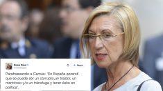 Rosa Díez. (Foto: AFP)