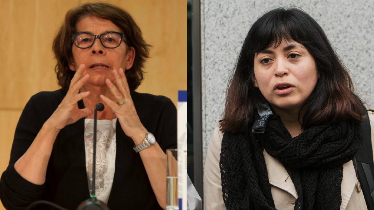Inés Sabanés, concejal de Medio Ambiente, y Rommy Arce, concejal de Usera y Arganzuela. (Fotos: Madrid)