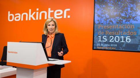 La consejera delegada de Bankinter, Dolores Dancausa. (Foto: Bankinter)
