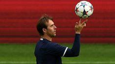 Julen Lopetegui presentó un equipo con varias novedades ante Argentina. (Getty)