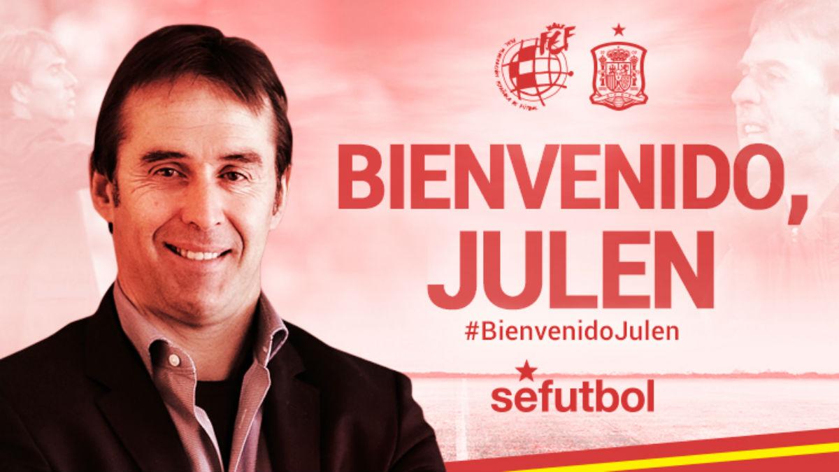 Lopetegui, nuevo entrenador de España.