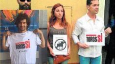 Morante de la Puebla luce una camiseta con el lema del cartel de Rafael Limón. (Foto: 'Diario de Cádiz')