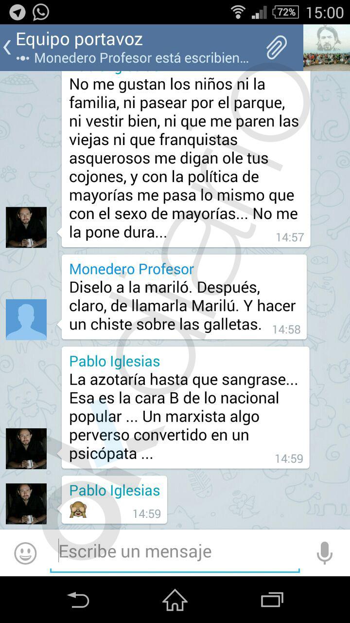 Mariló Montero responde a Iglesias en OKDIARIO: «No sé si sus disculpas son sinceras»