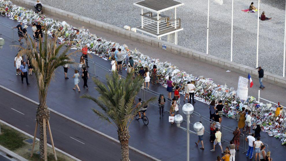 Paseo de los Ingleses en Niza. (Foto: AFP)