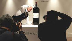 Subasta de vino de lujo (Foto: Getty)