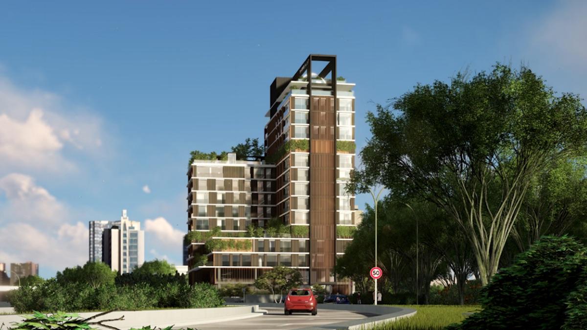 Proyecto de Torre Bolearis (Foto: IBOSA).