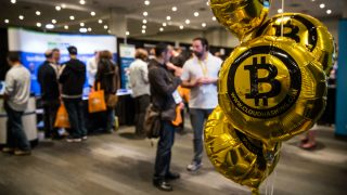 Conferencia sobre BitCoin en Nueva York (Foto: GETTY).