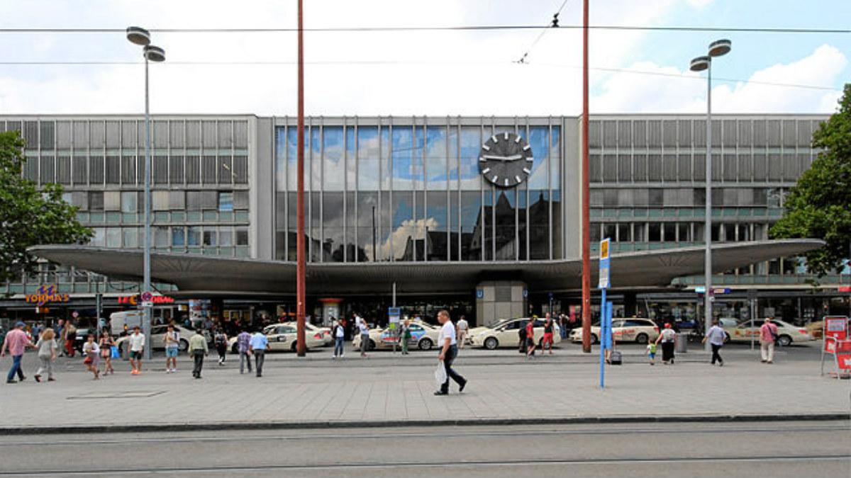 Estación Central de trenes de Múnich.
