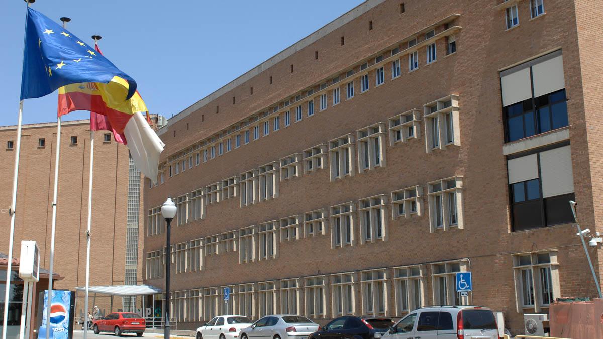 Fachada del Hospital de Parapléjicos de Toledo