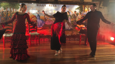 Premios IIFA en Madrid mezclando lo castizo, lo andaluz y lo indio. (Foto. IIFA)