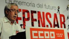 El secretario general de CCOO, Ignacio Fernández Toxo (Foto: CCOO).