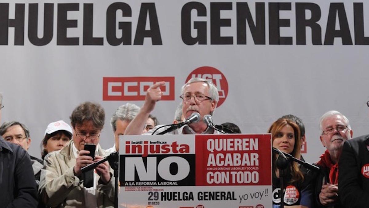 Ignacio Fernández Toxo. (Foto: CCOO)