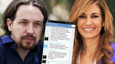 La conversación que Pablo Iglesias y Monedero mantuvieron en la red Telegram en agosto de 2014.