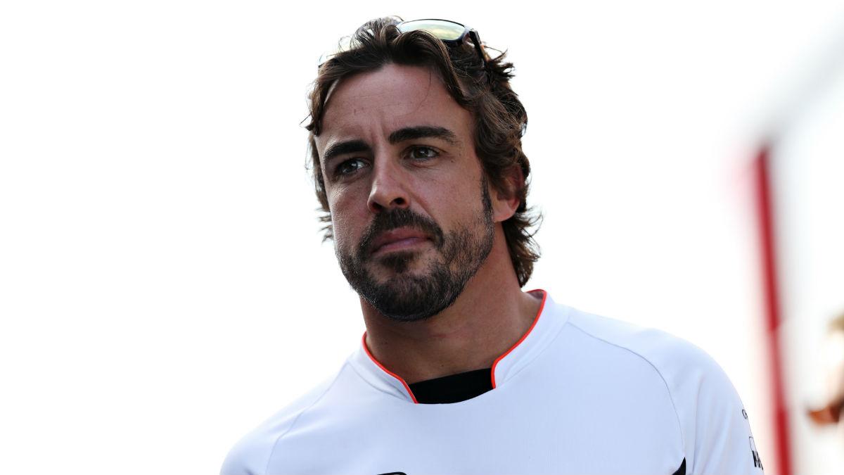 Fernando Alonso optimista en Hungría. (Getty)