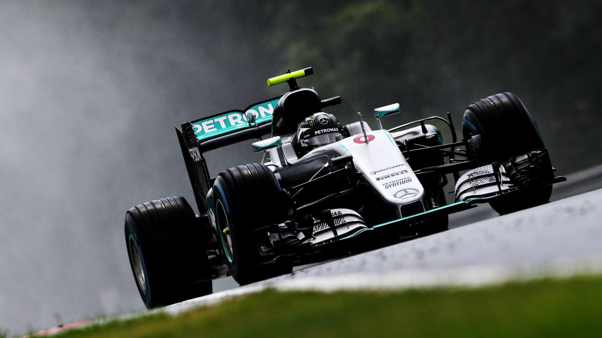 Nico Rosberg saldrá primero en el GP de Hungría. (Getty)
