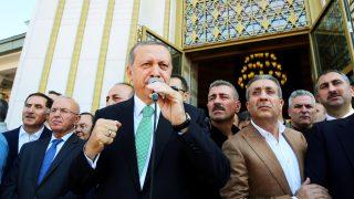 El presidente turco Recep Tayyip Erdogan en Ankara (Foto: Reuters)