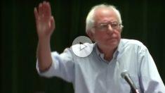 Sanders, abucheado por sus seguidores al pedir el voto para Clinton.