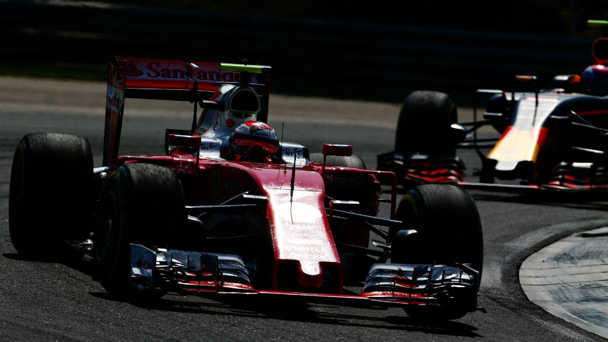 El incidente entre Raikkonen y Verstappen en el Gran Premio de Hungría está dando mucho que hablar. (Getty)