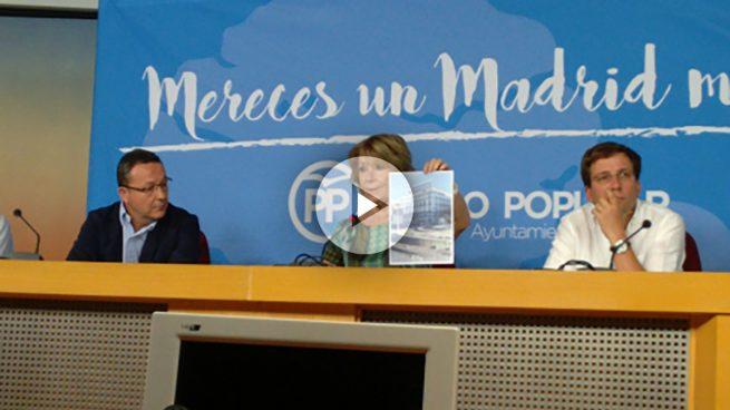 Aguirre carga contra la memoria histórica de Carmena: «Es de Wikipedia y poco más»