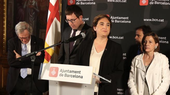 El ayuntamiento de Colau anuncia que participará «activamente» en la Diada