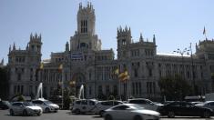 Ayuntamiento de Madrid en su sede del Palacio de Cibeles. (Foto: GETTY)