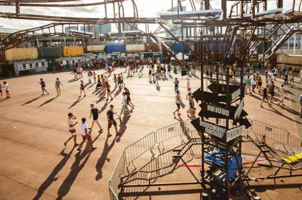 Así es el espacio principal del DGTL Barcelona en el Parc del Forum.