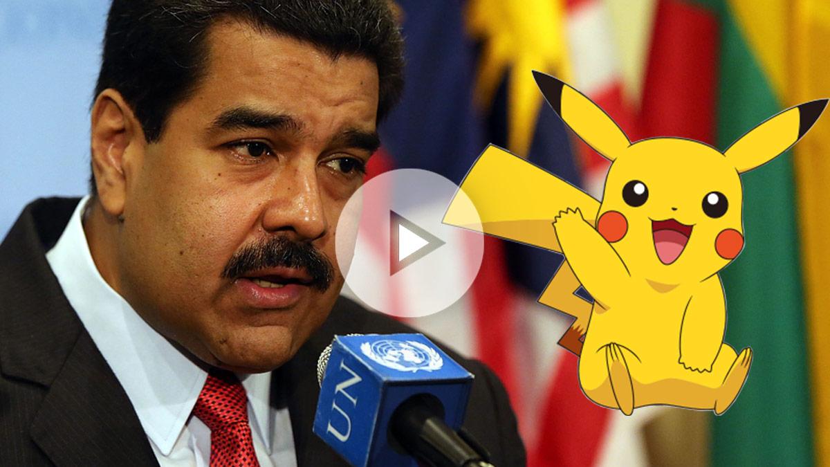 Nicolás Maduro la toma ahora con Pokémon.