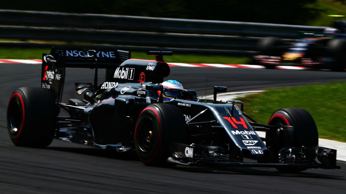 Alonso considera muy complicado que McLaren alcance los resultados de Hungría en Alemania. (Getty)