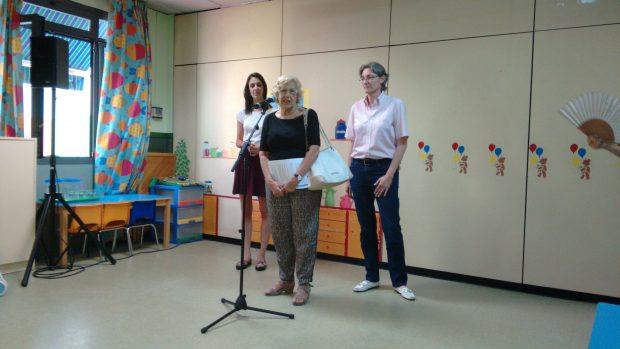 Rita Maestre, Manuela Carmena y Marta Higueras en su última aparición pública. (Foto: OKDIARIO)
