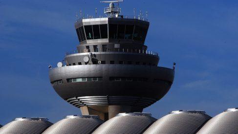 Torre de control del Aeropuerto de Barajas (Foto: ENAIRE).