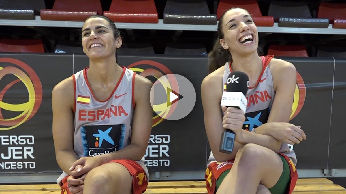 Leticia Romero y Laura Quevedo atienden a OKDIARIO antes de los Juegos Olímpicos.