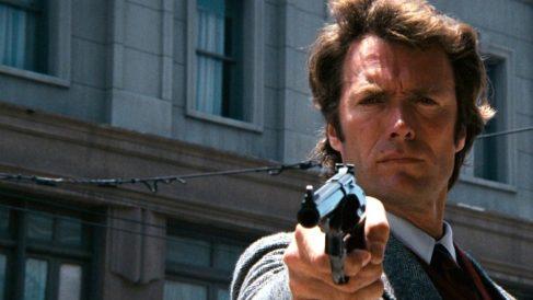 Clint Eastwood en Harry el Sucio .