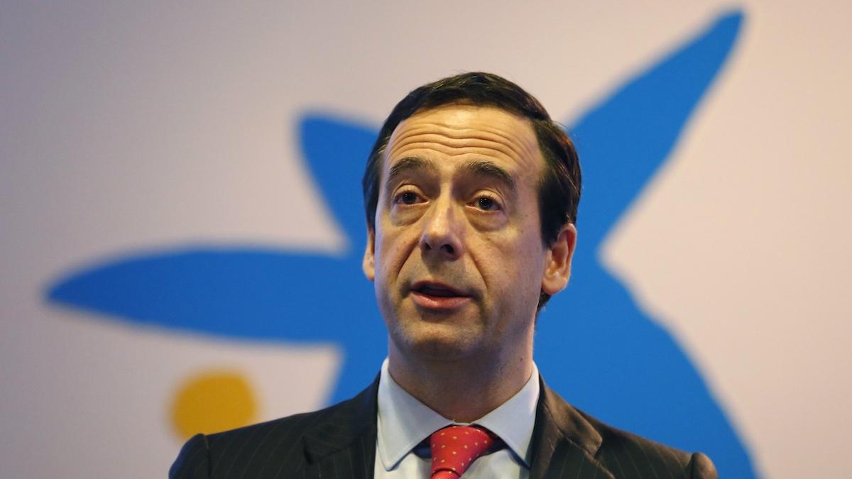 El consejero delegado de CaixaBank, Gonzalo Gortázar. (Foto: EFE)