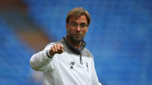 Klopp, entrenador del Liverpool. (Getty)