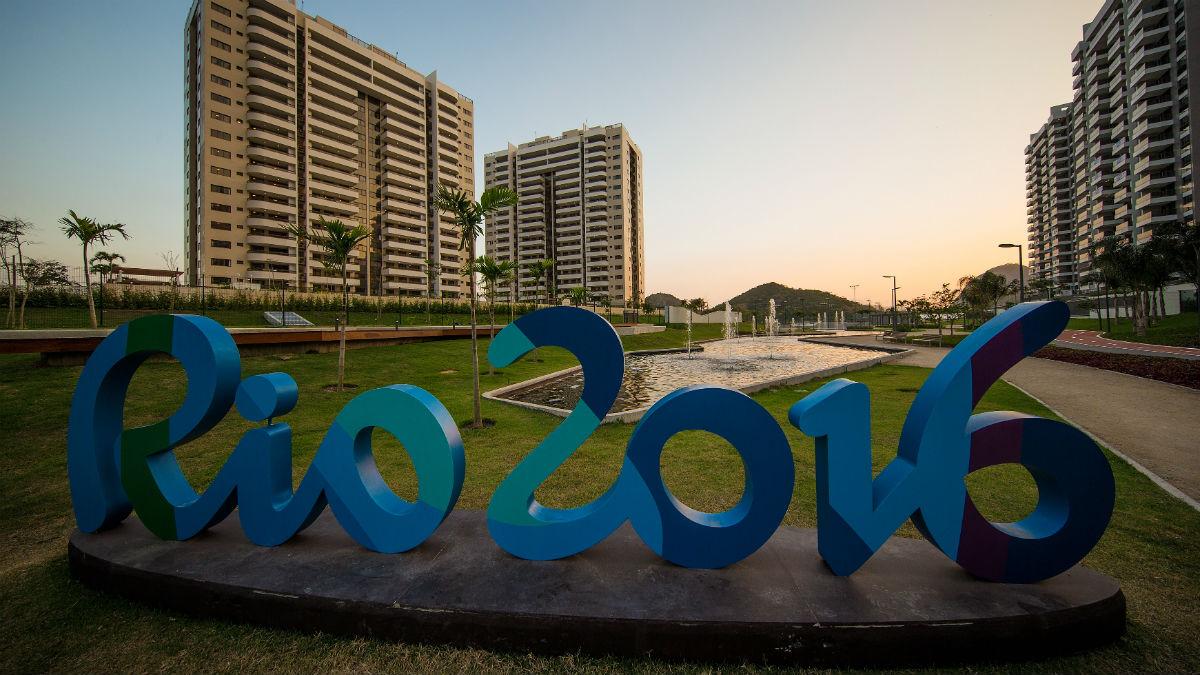Una imagen de la villa olímpica de Río 2016. (Getty)