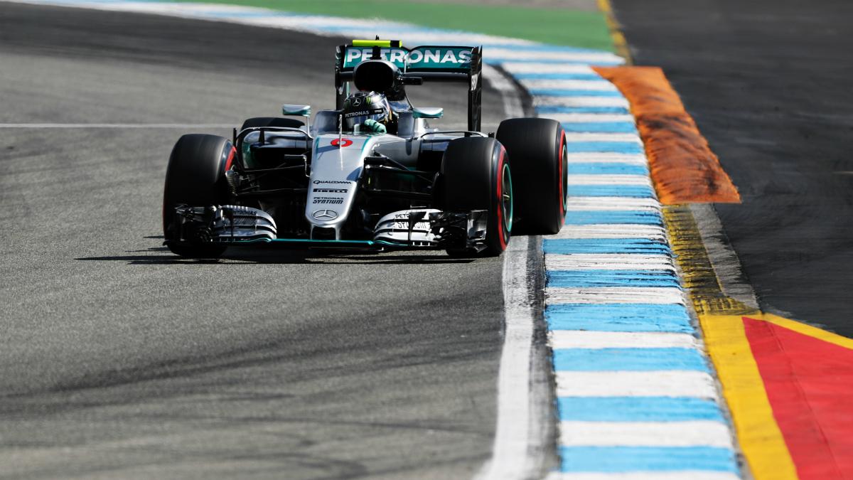 Nico Rosberg se hizo con la 'pole' en el GP de Alemania. (Getty)