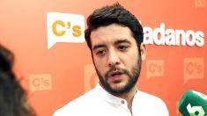 César Zafra, diputado de Ciudadanos en la Asamblea de Madrid. (Foto: EFE)