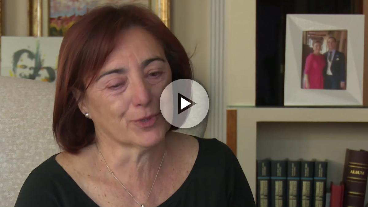 Cristina Garrido, madre de un fallecido en los atentados de París del 13N.