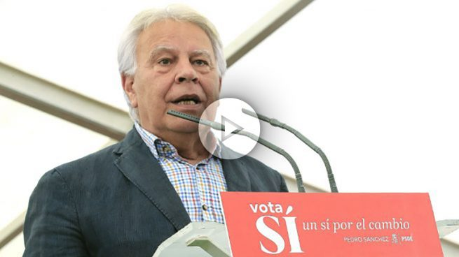 Felipe González pide al PSOE que se abstenga para que gobierne Rajoy